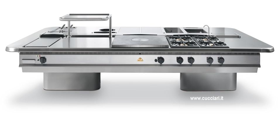 Cucine professionali sardegna cucciari arredamenti for Cucine professionali per casa