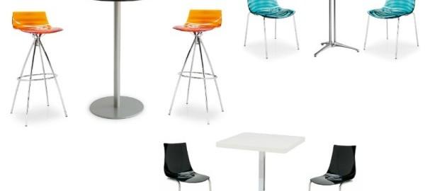 Sedie e tavoli bar cucciari arredamenti sardegna for Tavoli sedie bar