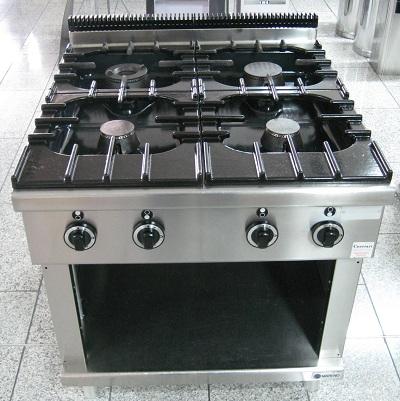 Cucina A Gas Professionale Usata.Laminato E Finto Parquet Cucina 4 Fuochi Professionale Usata