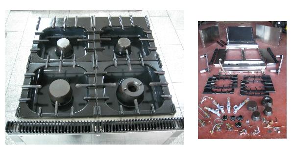 Cucina 4 fuochi professionale sardegna nuoro sassari olbia for Cucina 4 fuochi usata