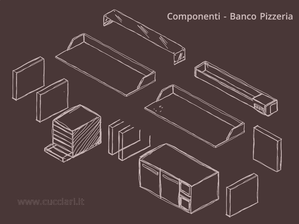 Come costruire un banco pizzeria cucciari arredamenti for Come costruire un mazzo del secondo piano