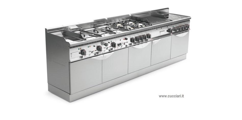 Cucine professionali sardegna cucciari arredamenti for Mobili cucine professionali