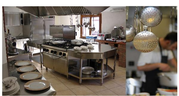 Cucina per ristorante in sardegna oristano nuoro sassari for Arredamento cucina roma