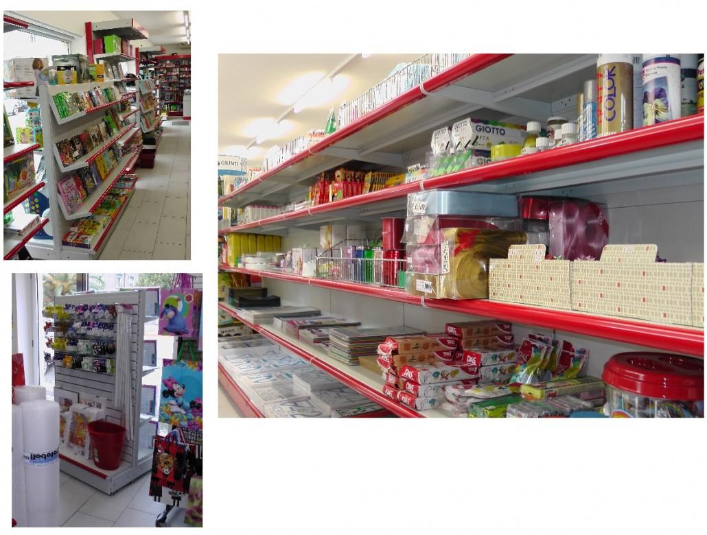Arredamento negozi cartoleria sardegna nuoro olbia sassari for Negozi arredamento cagliari