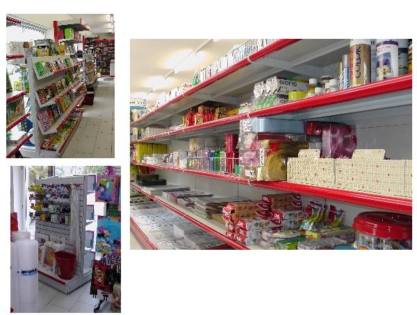 Scaffalature per negozi Sardegna Oristano Olbia Nuoro Sassari Cagliari scaffali