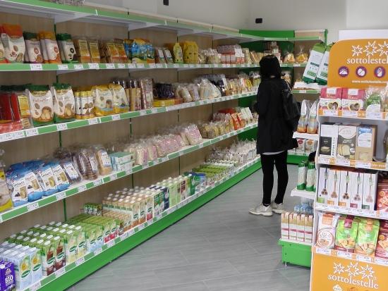 Mobili negozi biologici sardegna oristano nuoro sassari for Arredamento alimentari usato