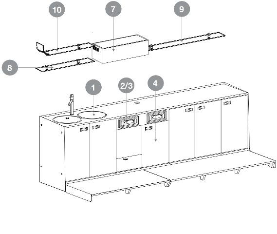 Arredamento bar economico divanetti e poltrone bar for Mobilifici economici