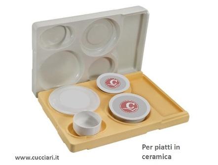 contenitore termico monopasto piatti