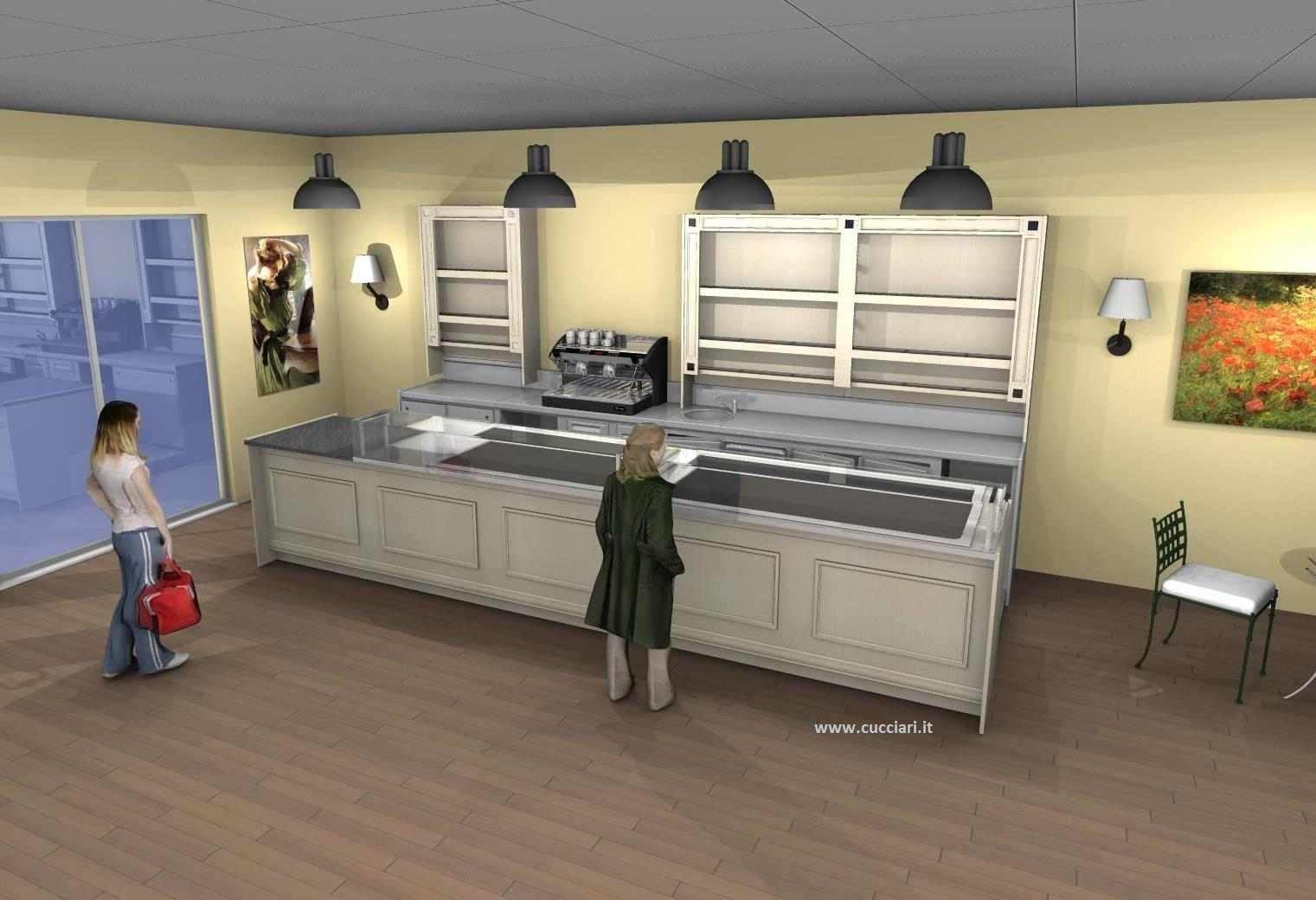 Arredamento pasticceria stile provenzale cucciari for Arredamento taverna stile provenzale
